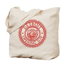 detop_red Tote Bag