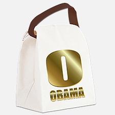 o obama circle 1 Canvas Lunch Bag
