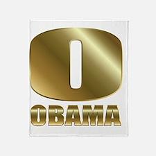 o obama circle 1 Throw Blanket