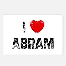 I * Abram Postcards (Package of 8)