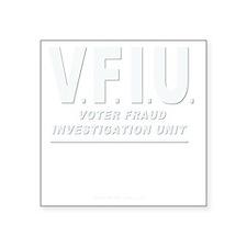 """VFIUwhtLetter Square Sticker 3"""" x 3"""""""