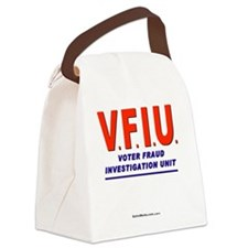 VFIUredLetters Canvas Lunch Bag
