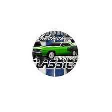 Classic Musclecar Mini Button