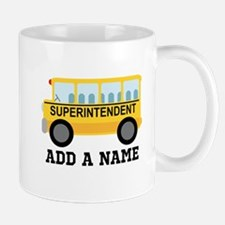 Personalized Superintendent School Gift Mugs
