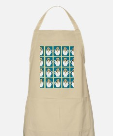 chihuahu in teacup shower curtain Apron