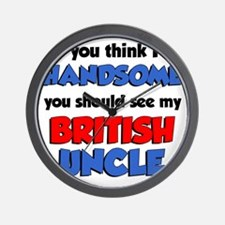 Handsome British Uncle Wall Clock