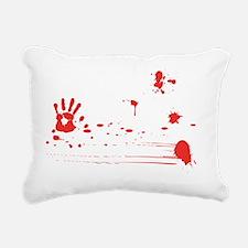 zombies wh Rectangular Canvas Pillow