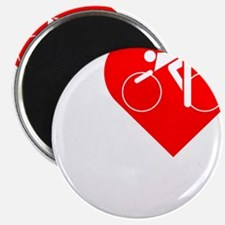 I-Heart-Cycling-darks Magnet