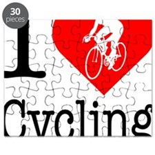 I-Heart-Cycling2 Puzzle