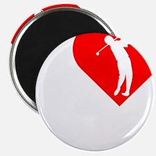 I-Heart-Golf-darks Magnet