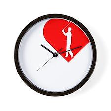 I-Heart-Golf-2-darks Wall Clock