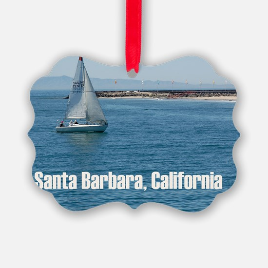 Santa Barbara Ornament