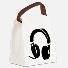 headphones_2012 Canvas Lunch Bag