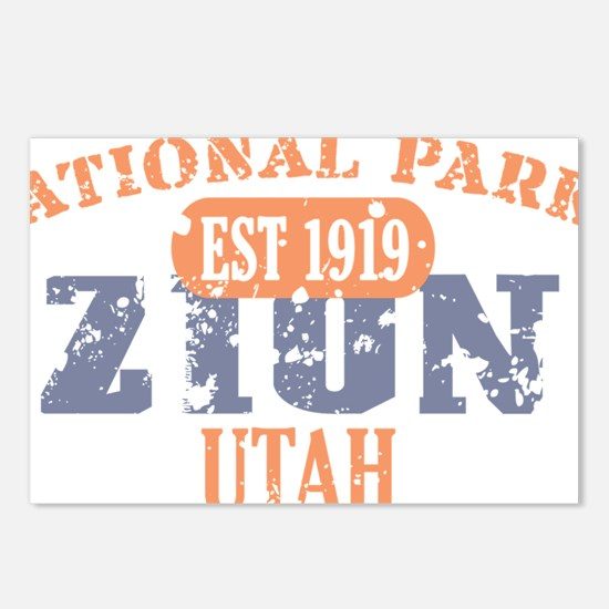 Zion 2 Postcards (Package of 8)