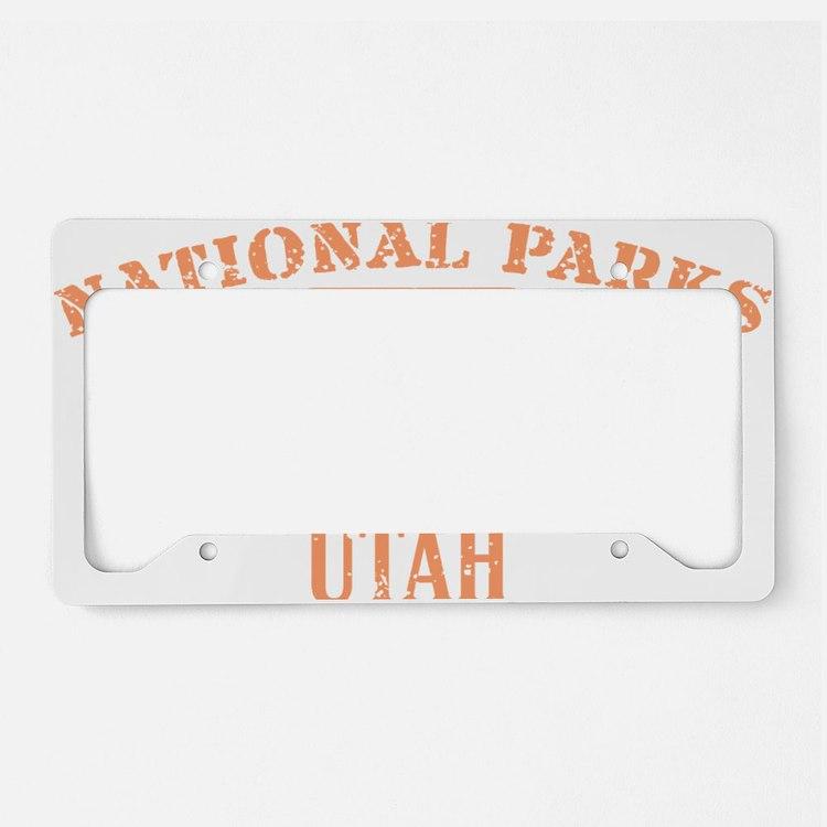 Zion 2 License Plate Holder