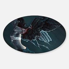 M.S. Angel IV:  Nike Sticker (Oval)