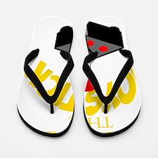 RESPECT THE JOYSTICK YELLOW Flip Flops