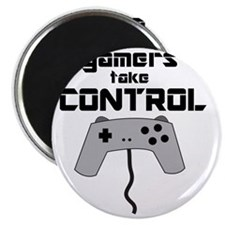 GAMERS TAKE CONTROL Magnet