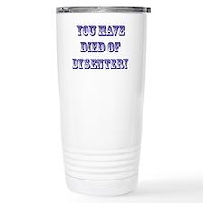 dysentery2 Travel Mug