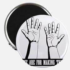 hands-work-T Magnet