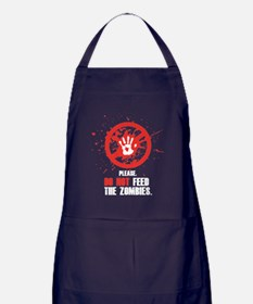 do not feed wh Apron (dark)