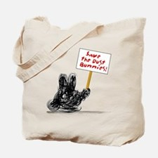 Dust Bunnies Dark Tote Bag