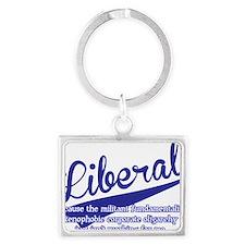liberal Landscape Keychain