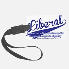 liberal Luggage Tag