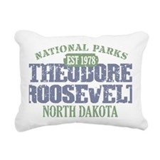 Theodore Roosevelt 2 Rectangular Canvas Pillow