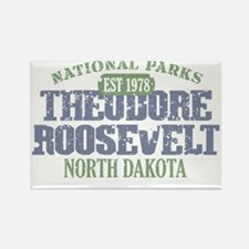 Theodore Roosevelt 3 Rectangle Magnet