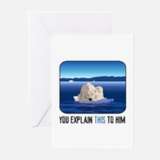 Arctic Polar Bear Greeting Cards (Pk of 10)