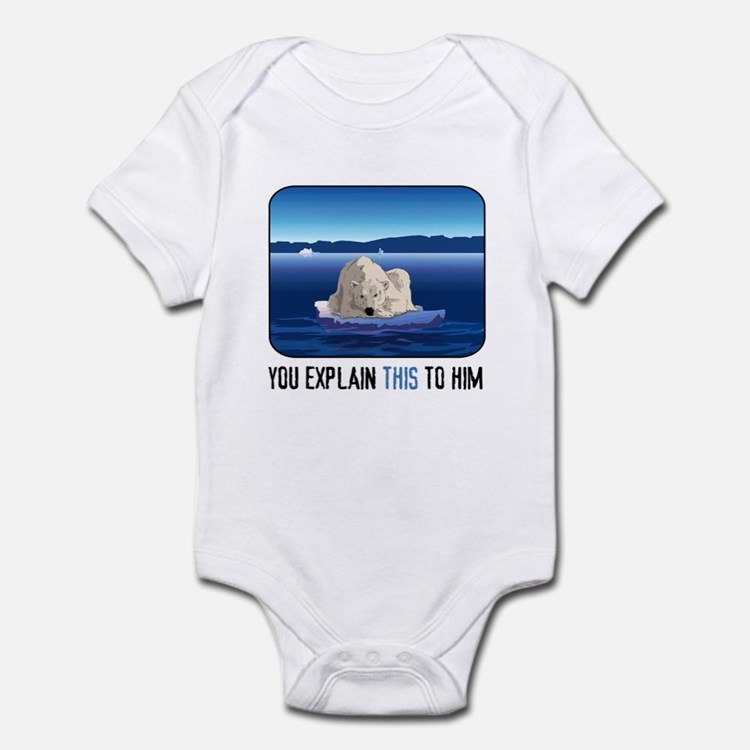 Arctic Polar Bear Infant Bodysuit
