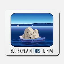 Arctic Polar Bear Mousepad