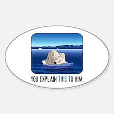 Arctic Polar Bear Stickers