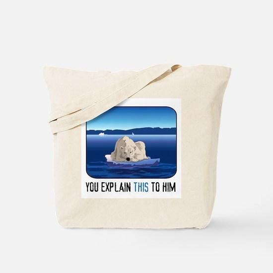 Arctic Polar Bear Tote Bag