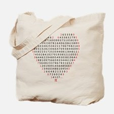 pi love Tote Bag