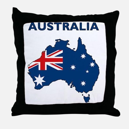 australia26 Throw Pillow