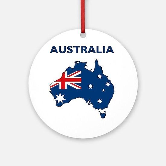 australia26 Round Ornament