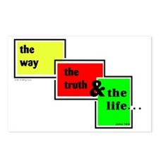 Way Truth Life Postcards (Package of 8)