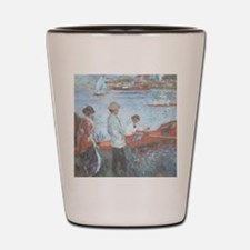 RenoirOarsman7100 Shot Glass