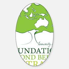 FBB Australia Logo Sticker (Oval)