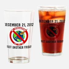 No Apocalypse T-Shirt Drinking Glass