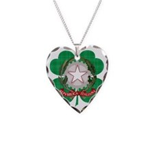 Irish Italian Heritage Necklace