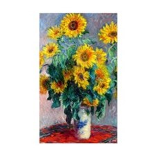 GC Monet Sunflowers Decal