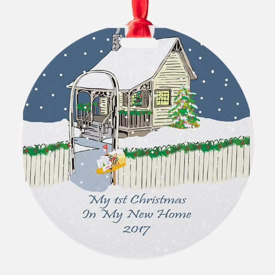 2017 My 1St Christmas Cute Cottage Ornament