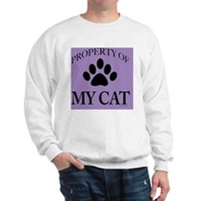 PropCat-BonPurp-11x11 Sweatshirt