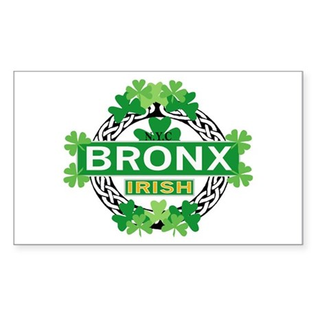 Bronx Irish Rectangle Sticker