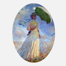 GC Monet 3 Oval Ornament