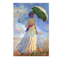 GC Monet 3 Postcards (Package of 8)
