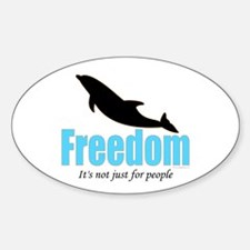 Dolphin Freedom Decal